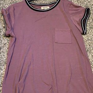 Heart & Hips Purple Tee Shirt